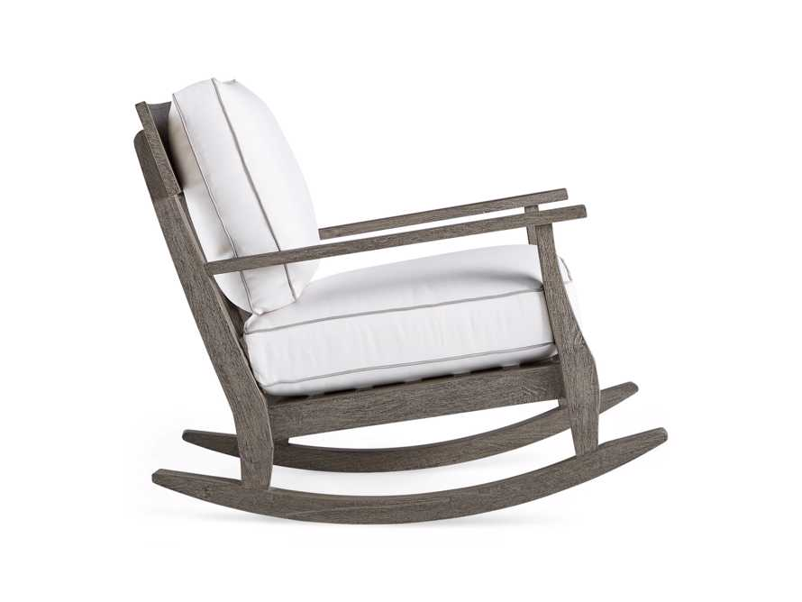 "Adones Outdoor 31"" Rocking Chair, slide 3 of 7"