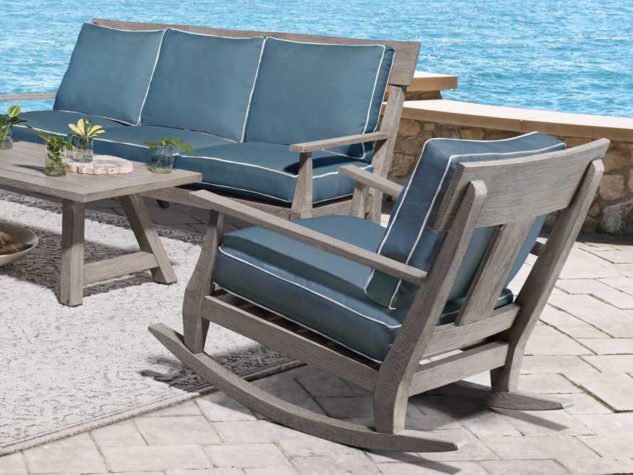 """Adones Outdoor 31"""" Rocking Chair, slide 9 of 9"""
