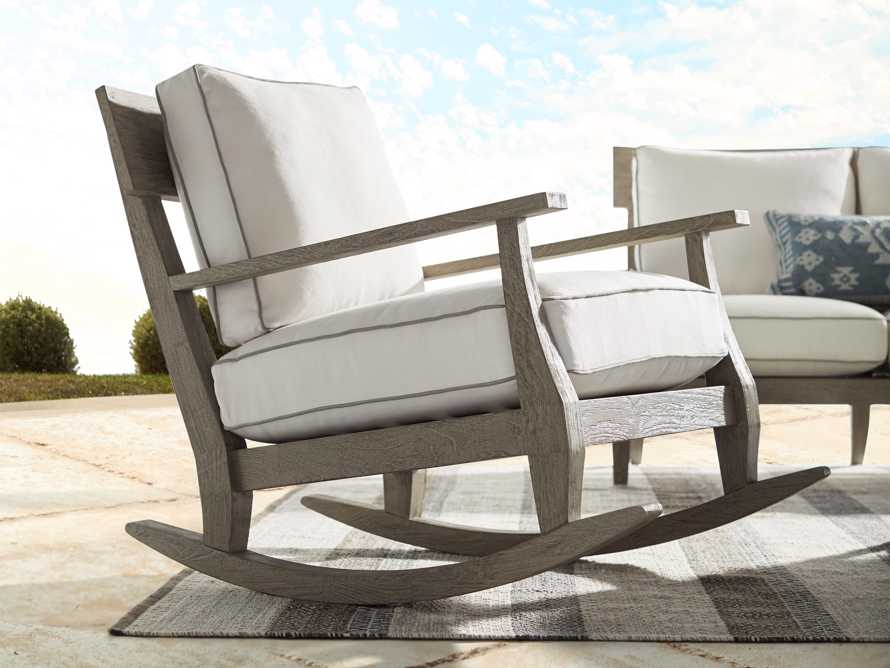 "Adones Outdoor 31"" Rocking Chair, slide 6 of 7"