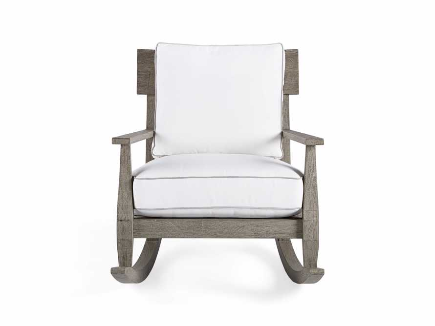 "Adones Outdoor 31"" Rocking Chair"