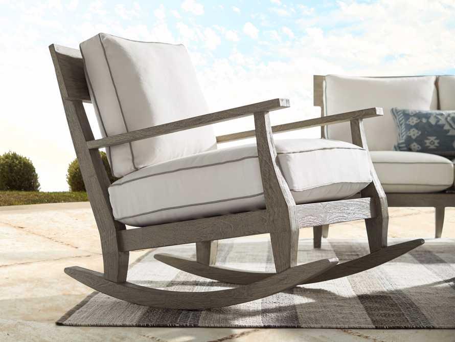 """Adones Outdoor 31"""" Rocking Chair"""