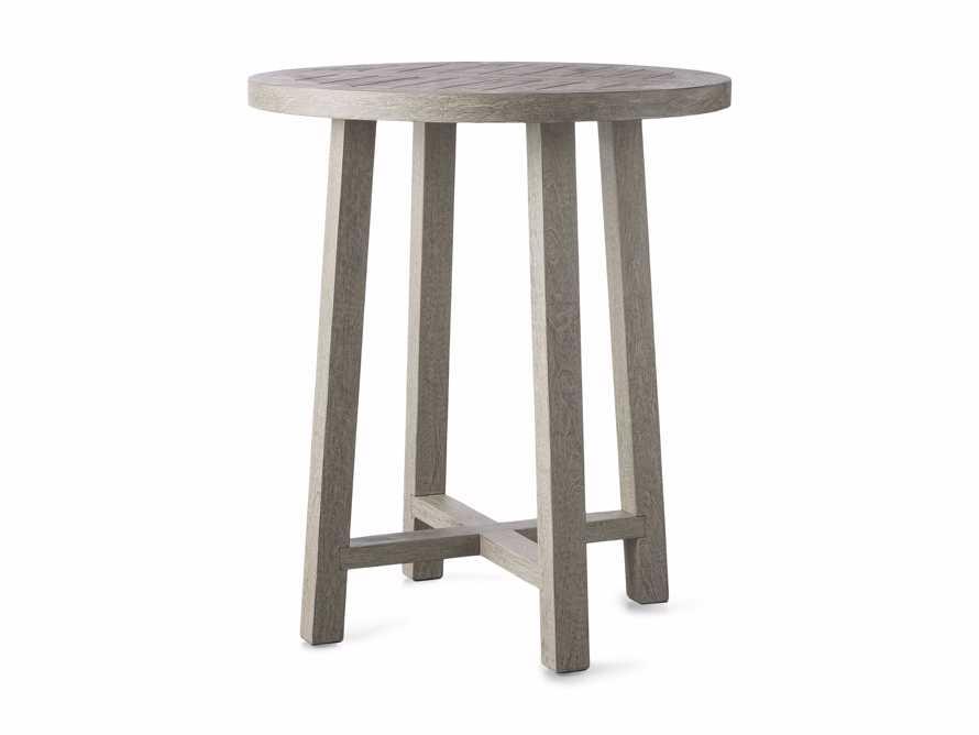 "Adones Outdoor 36"" Bar Table in Driftwood Grey, slide 4 of 4"