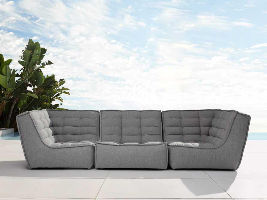 "Algarve Outdoor 114"" Sofa Sectional"