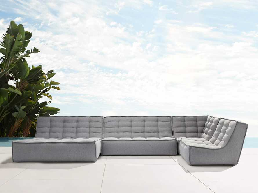 Algarve Outdoor Four Piece Double Sectional