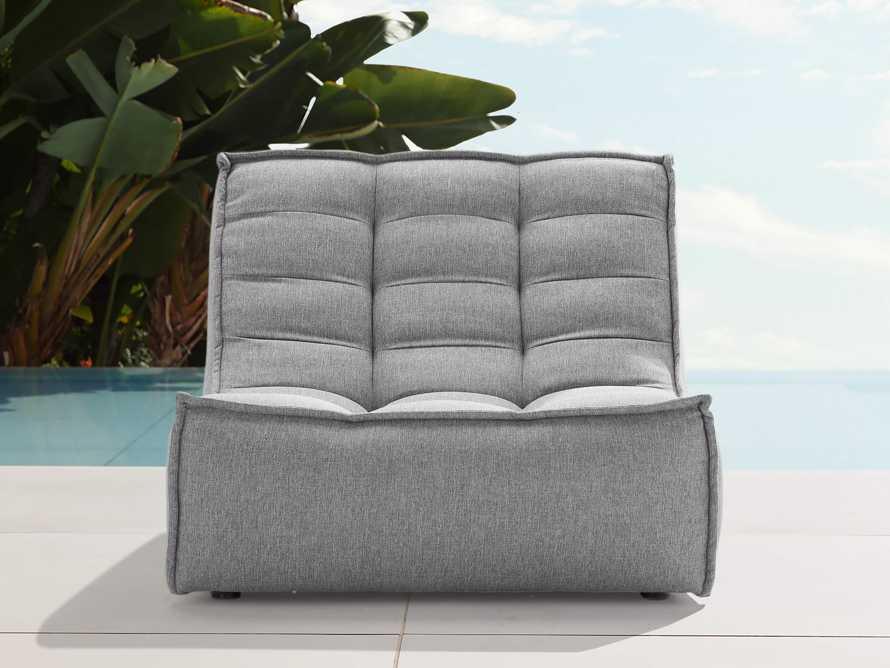 """Algarve Outdoor 36"""" Armless Chair"""