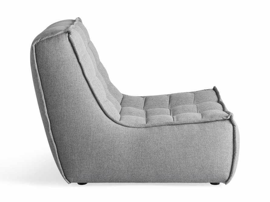 "Algarve Outdoor 36"" Armless Chair, slide 3 of 4"