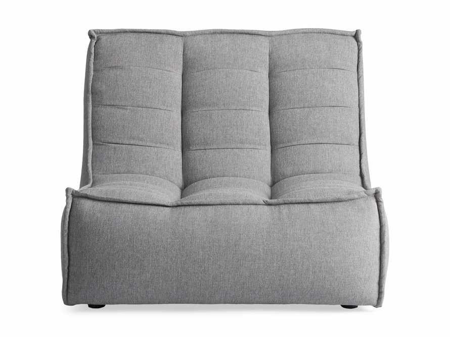 "Algarve Outdoor 36"" Armless Chair, slide 2 of 4"
