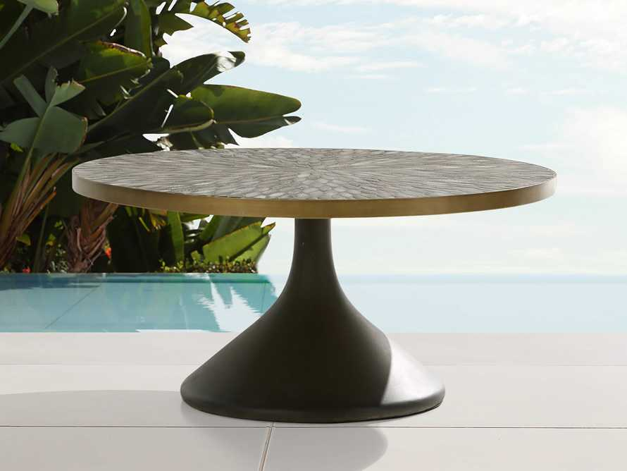 "Sorrento 36"" Round Coffee Table, slide 1 of 6"