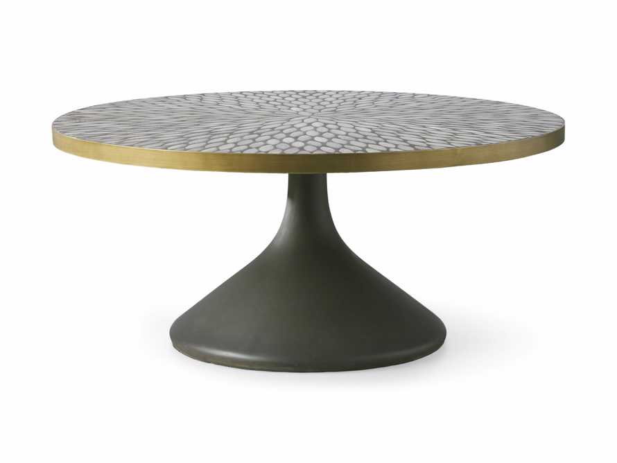 "Sorrento 36"" Round Coffee Table, slide 4 of 6"