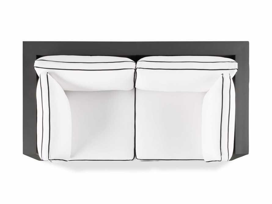 "Bal Harbour Outdoor Aluminum 78"" Modular Sofa with Flange, slide 5 of 6"