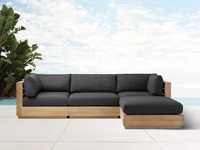 Bal Harbour Outdoor 4-Piece Sectional