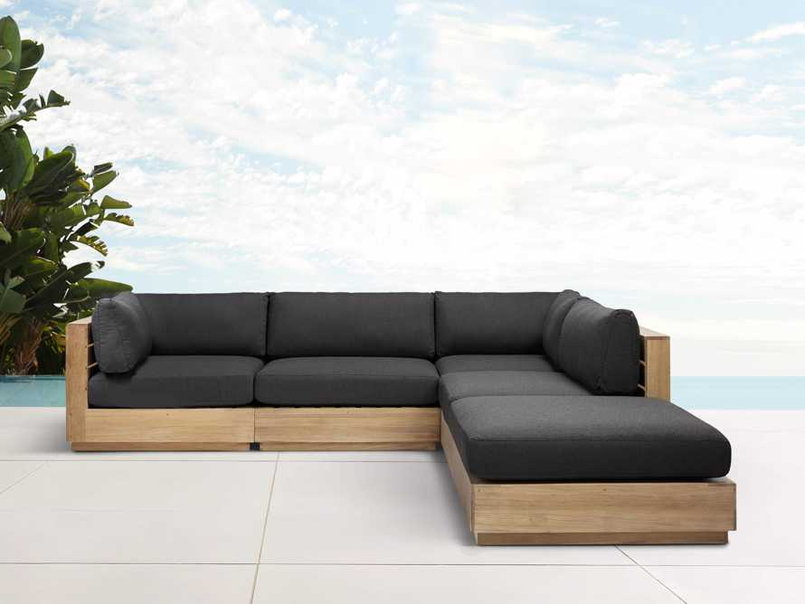 Bal Harbour Outdoor 5- Piece L Sectional