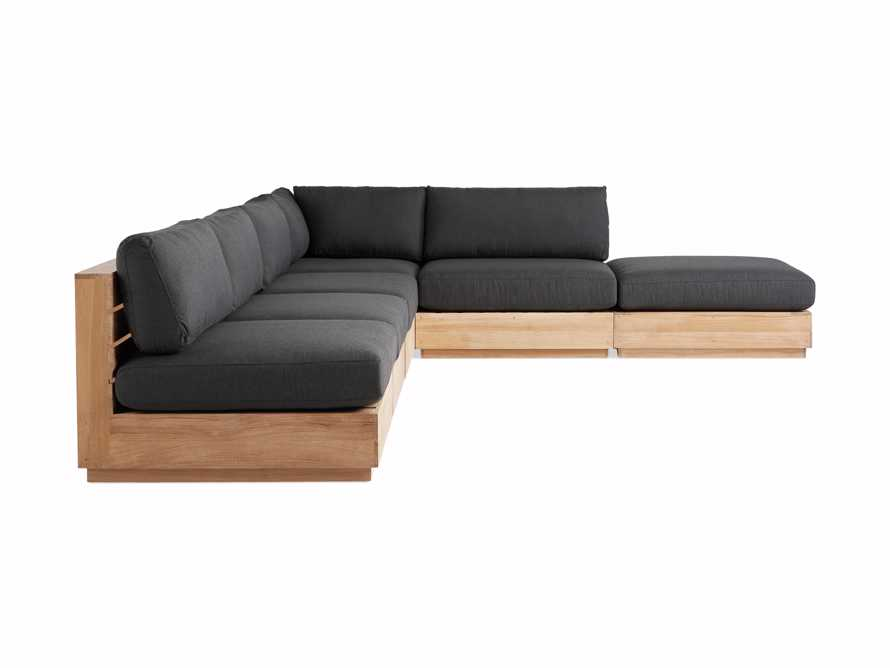 Bal Harbour Outdoor 6-Piece Sectional, slide 3 of 8