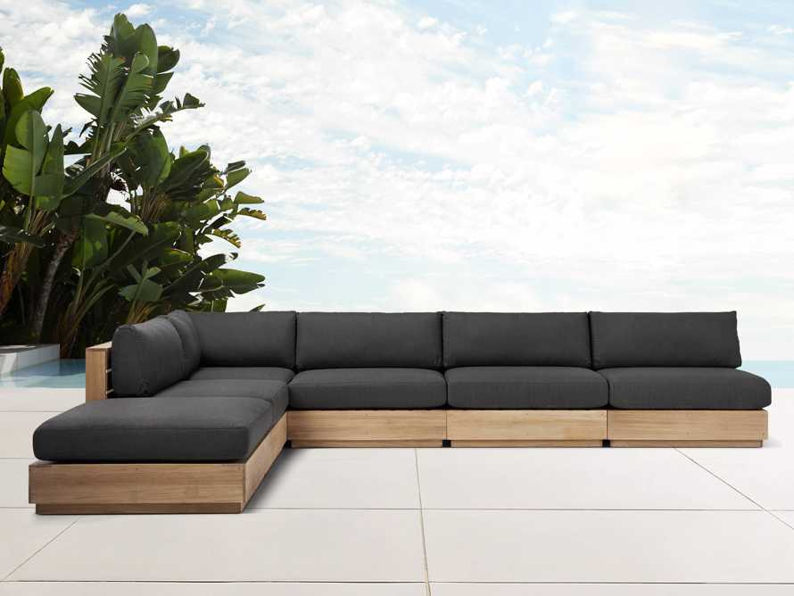 Bal Harbour Outdoor 6-Piece Sectional, slide 1 of 8