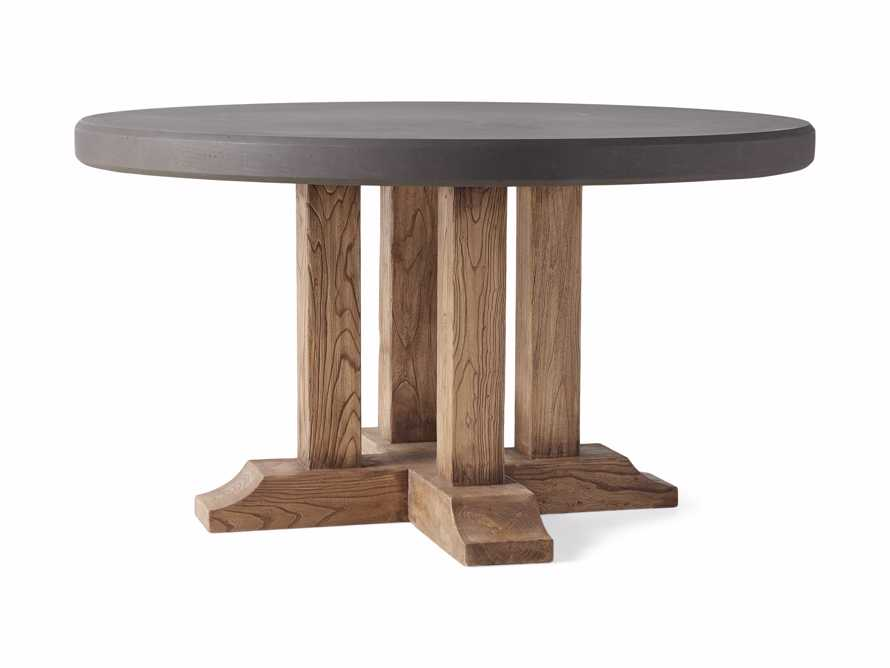 """Bourdeaux Outdoor 54"""" Round Dining Table, slide 2 of 4"""