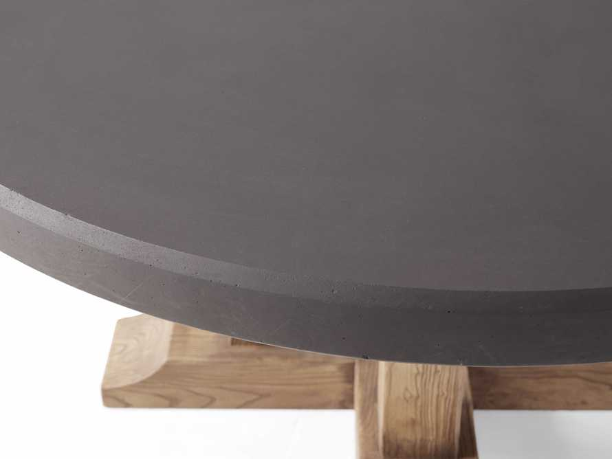 """Bourdeaux Outdoor 54"""" Round Dining Table, slide 4 of 4"""