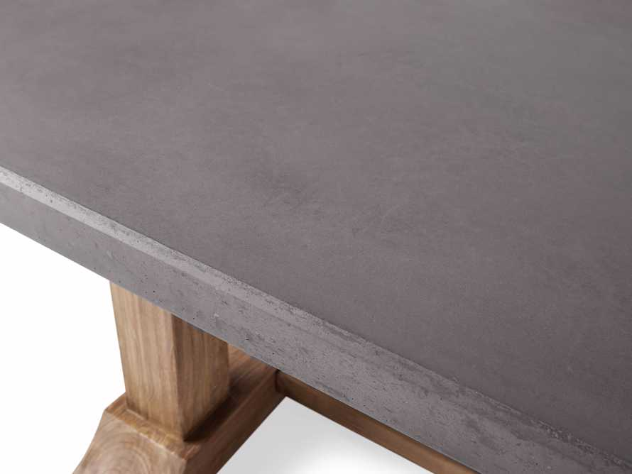 """Bourdeaux Outdoor 84"""" Stone Dining Table, slide 5 of 7"""