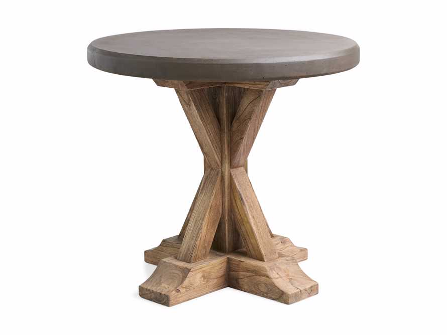 """Bourdeaux Outdoor 26"""" Round End Table"""
