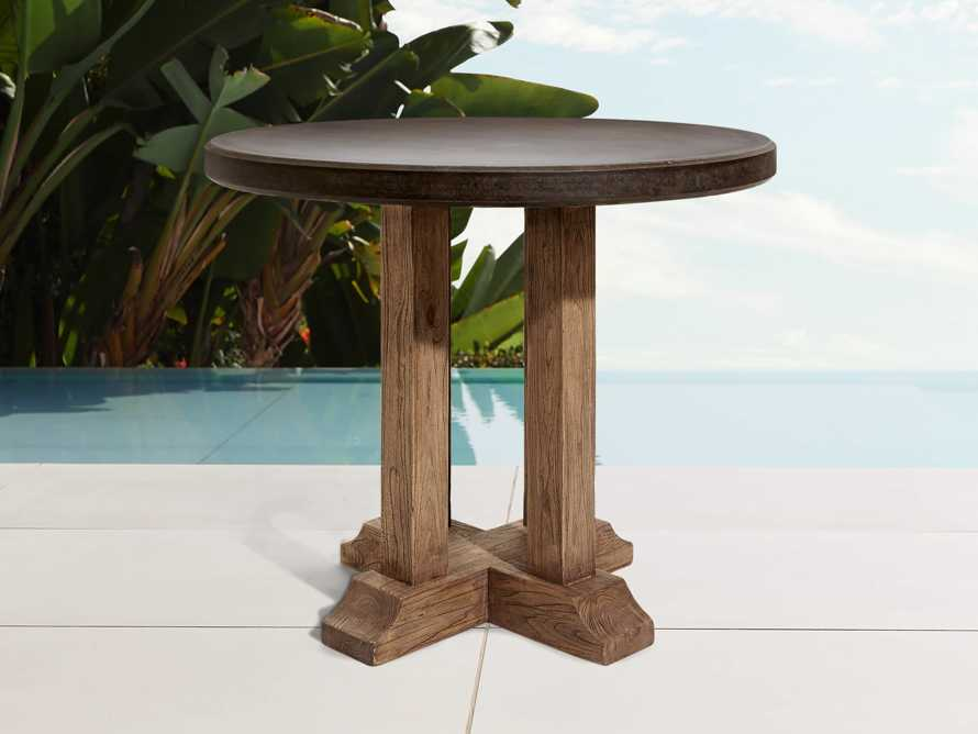 Bourdeaux Outdoor Bar Table, slide 1 of 5