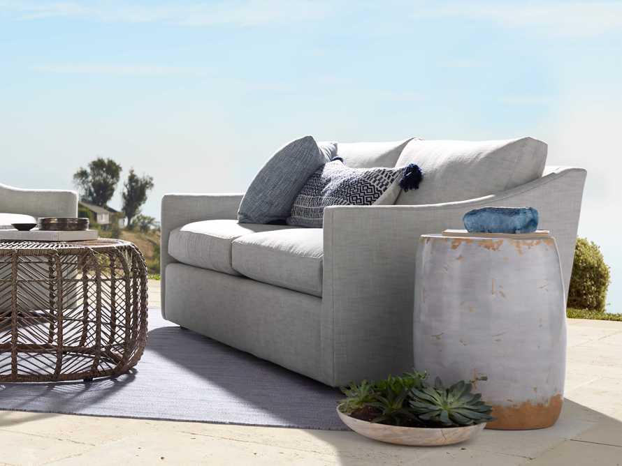 "Branson Outdoor 74"" Sofa, slide 1 of 5"