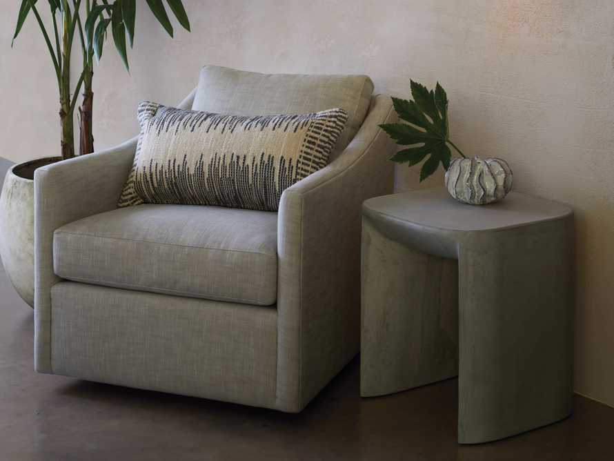 "Branson Outdoor 31"" Swivel Lounge Chair, slide 10 of 10"