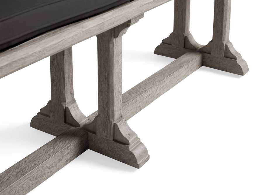 """Calistoga Outdoor 74"""" Dining Bench, slide 6 of 6"""