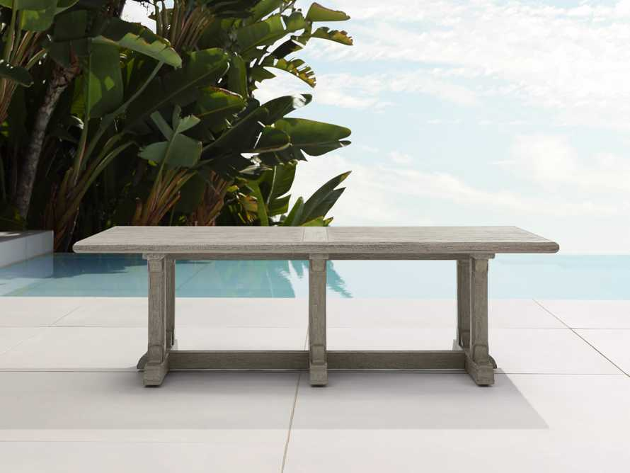 "Calistoga Outdoor 60"" Coffee Table, slide 1 of 6"