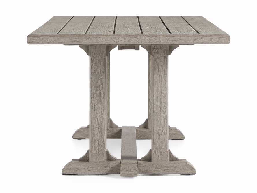 "Calistoga Outdoor 84"" Rectangle Dining Table, slide 4 of 5"
