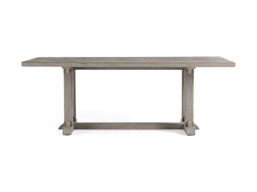 "Calistoga Outdoor 84"" Rectangle Dining Table, slide 3 of 5"