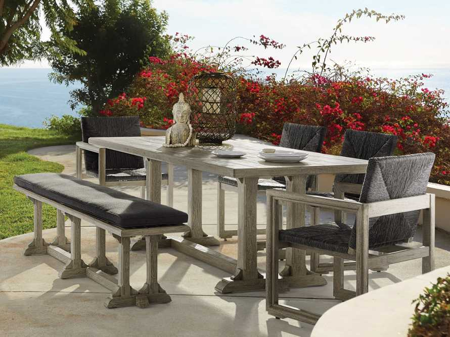 "Calistoga Outdoor 84"" Rectangle Dining Table, slide 1 of 5"