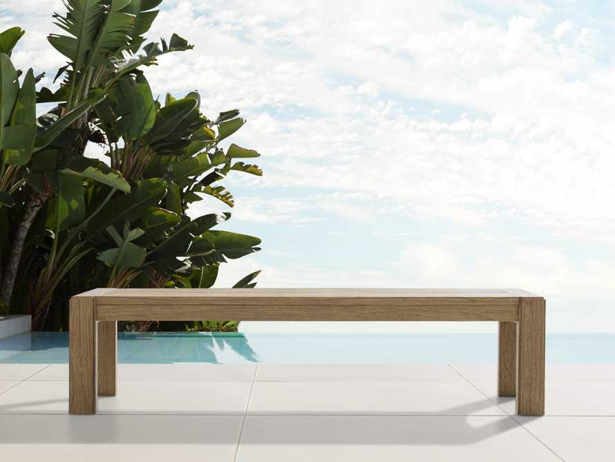 "Canyon Outdoor 60"" Teak Dining Bench, slide 1 of 5"