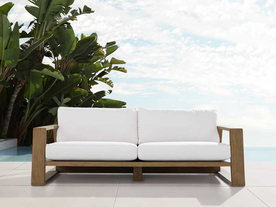 "Canyon Outdoor 86"" Sofa, slide 2 of 7"