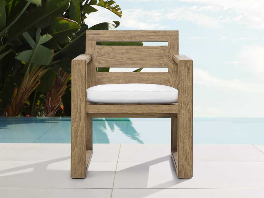 """Canyon Outdoor 27"""" Dining Arm Chair, slide 1 of 7"""