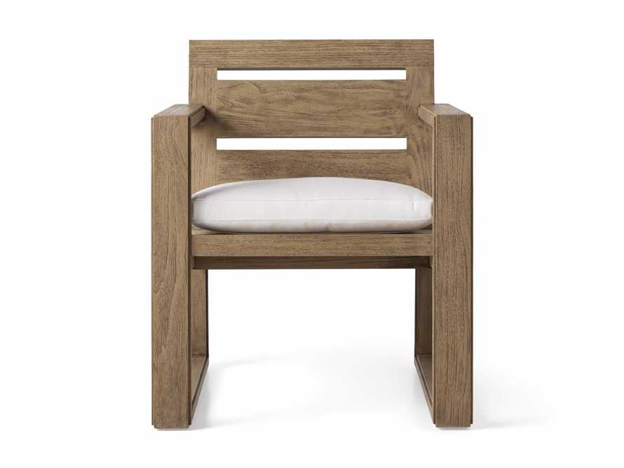 """Canyon Outdoor 27"""" Dining Arm Chair, slide 2 of 7"""