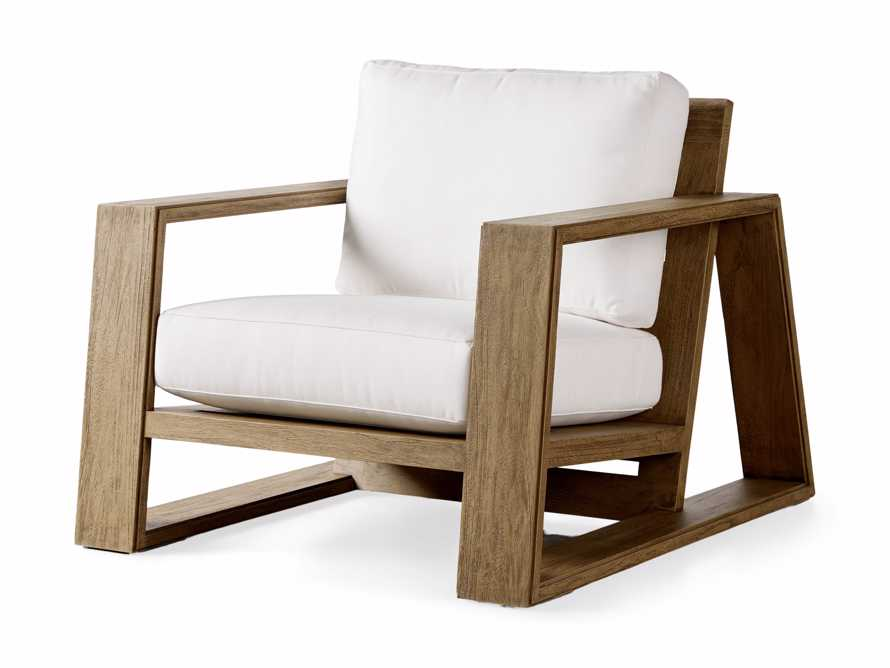 """Canyon Outdoor 36"""" Lounge Chair in Weathered Fawn, slide 3 of 11"""