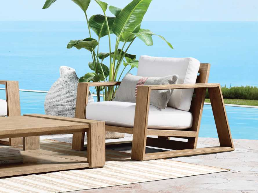 """Canyon Outdoor 36"""" Lounge Chair in Weathered Fawn, slide 8 of 11"""