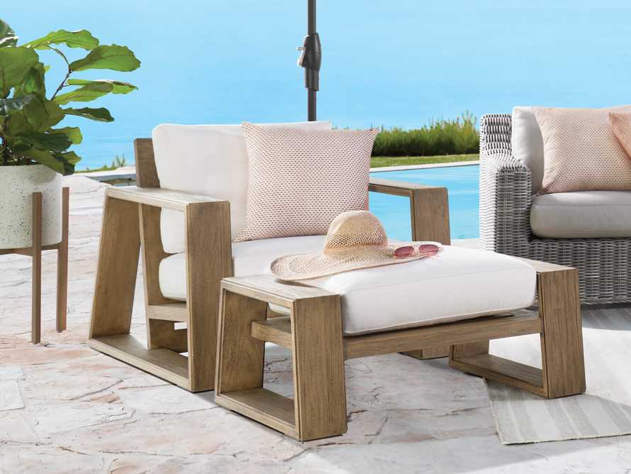 """Canyon Outdoor 36"""" Ottoman in Weathered Fawn, slide 2 of 4"""
