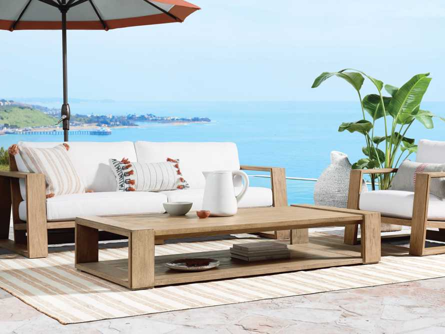 """Canyon Outdoor 72"""" Coffee Table, slide 6 of 6"""