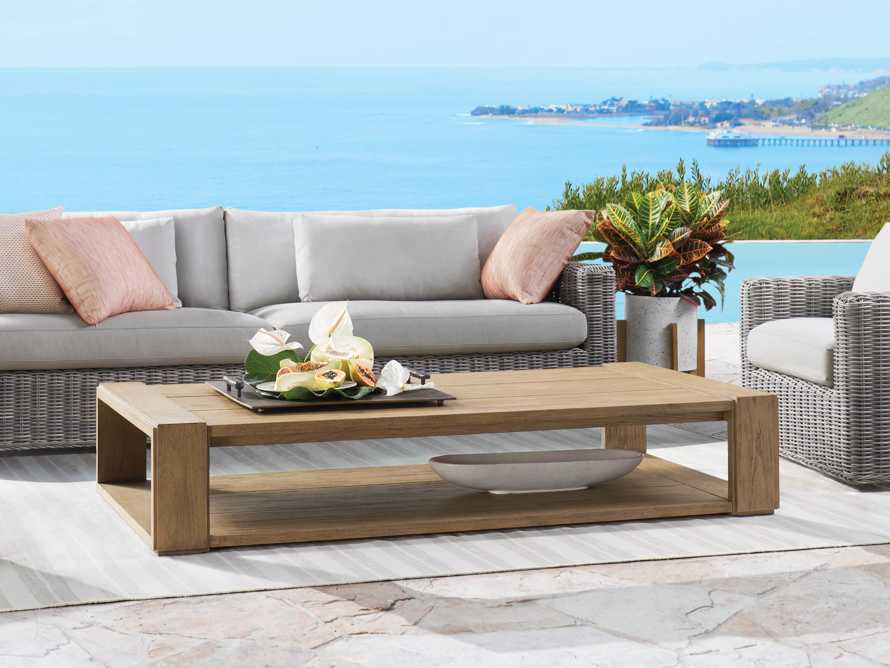 """Canyon Outdoor 72"""" Coffee Table, slide 1 of 6"""