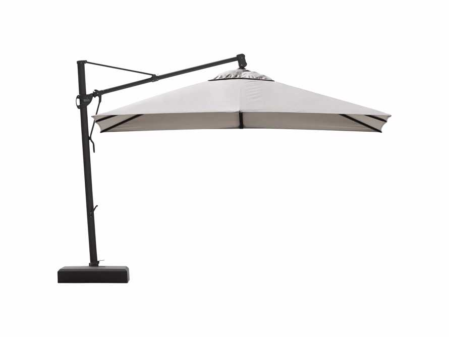 Cantilever 10' x 13' Outdoor Umbrella in Champagne, slide 5 of 5