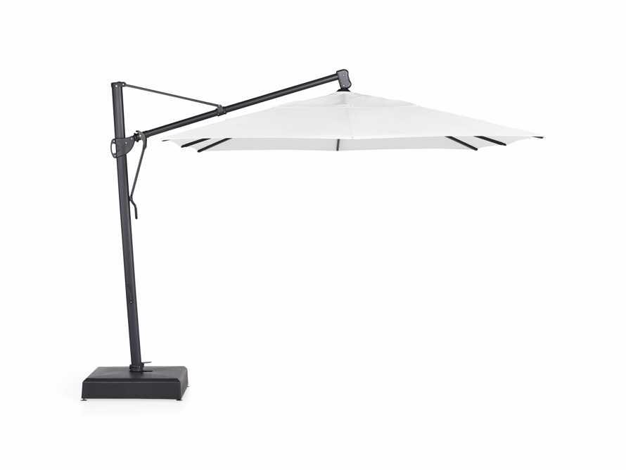 Cantilever 10' x 13' Outdoor Umbrella in Natural, slide 2 of 10