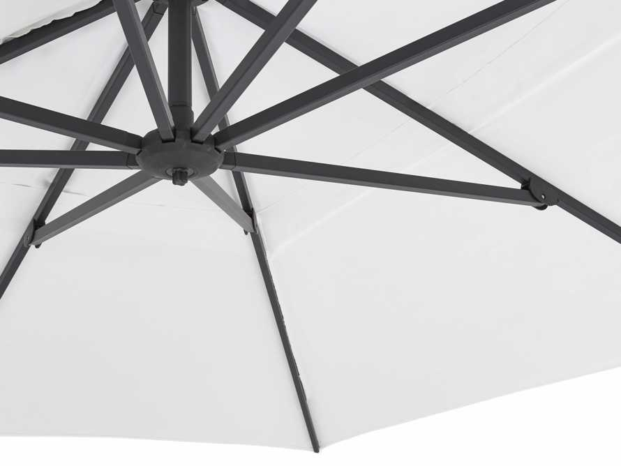 Cantilever 10' x 13' Outdoor Umbrella in Natural, slide 5 of 10