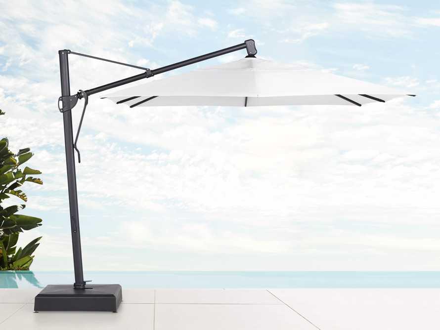 Cantilever 10' x 13' Outdoor Umbrella in Natural, slide 1 of 10