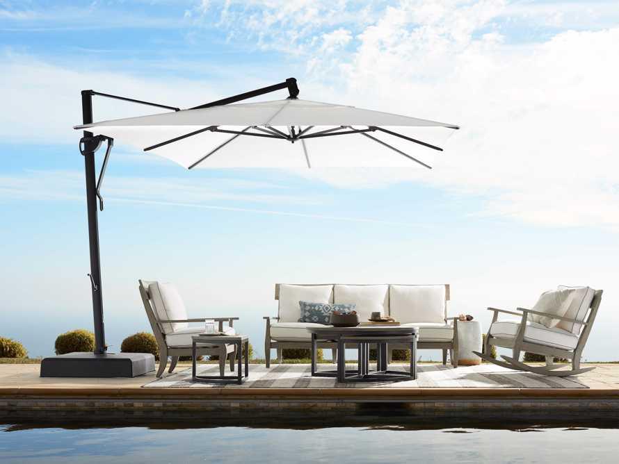 Cantilever 10' x 13' Outdoor Umbrella in Natural, slide 10 of 10