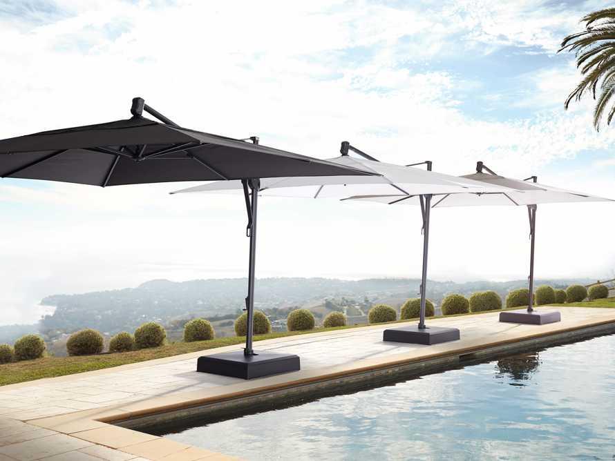 Cantilever 10' x 13' Outdoor Umbrella in Natural, slide 6 of 10