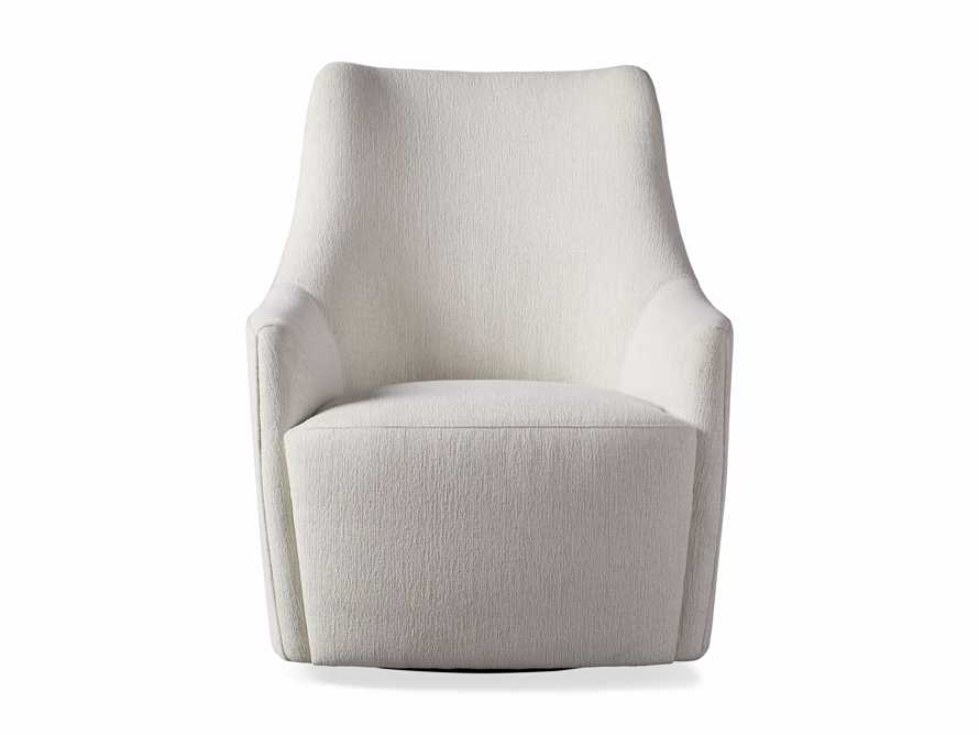 "Cole Outdoor Upholstered 31"" Swivel Chair, slide 3 of 7"