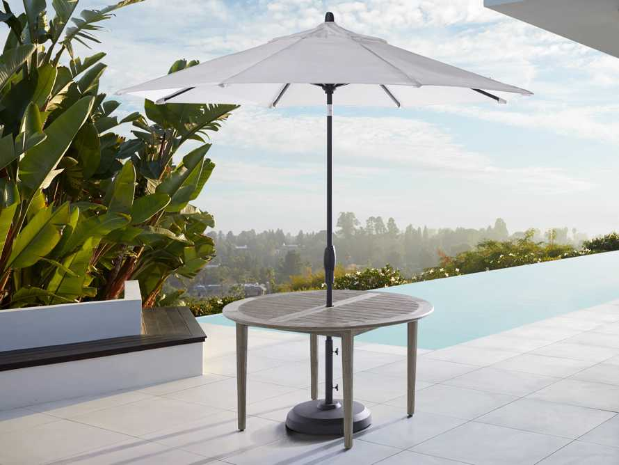 """Costa Outdoor Round 70"""" Dining Table, slide 3 of 8"""