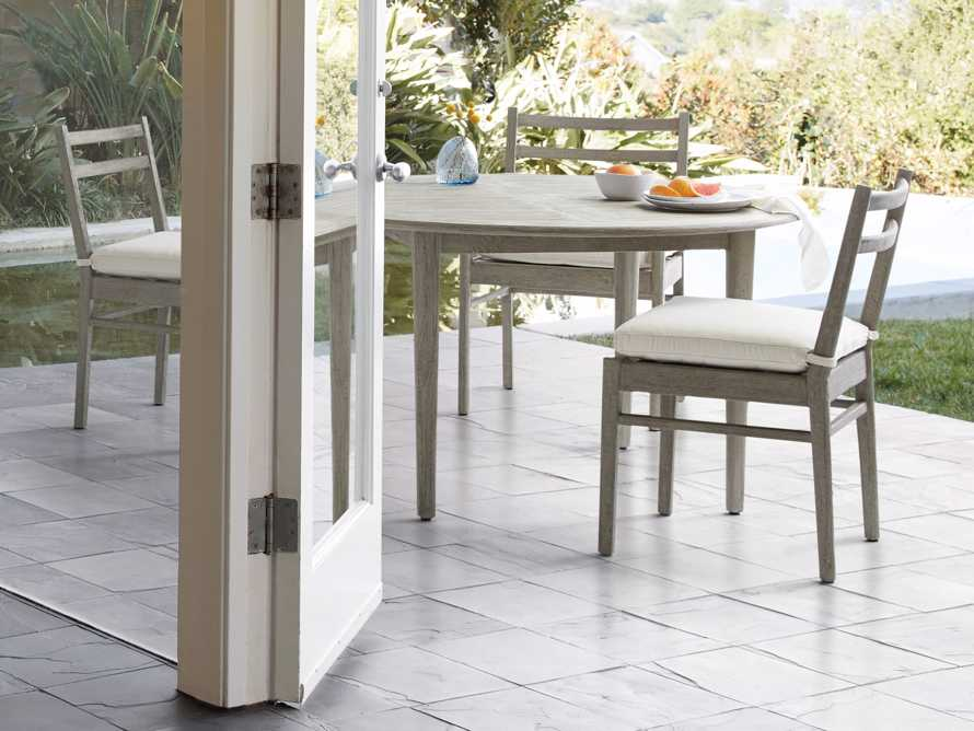 """Costa Outdoor Round 70"""" Dining Table, slide 4 of 8"""