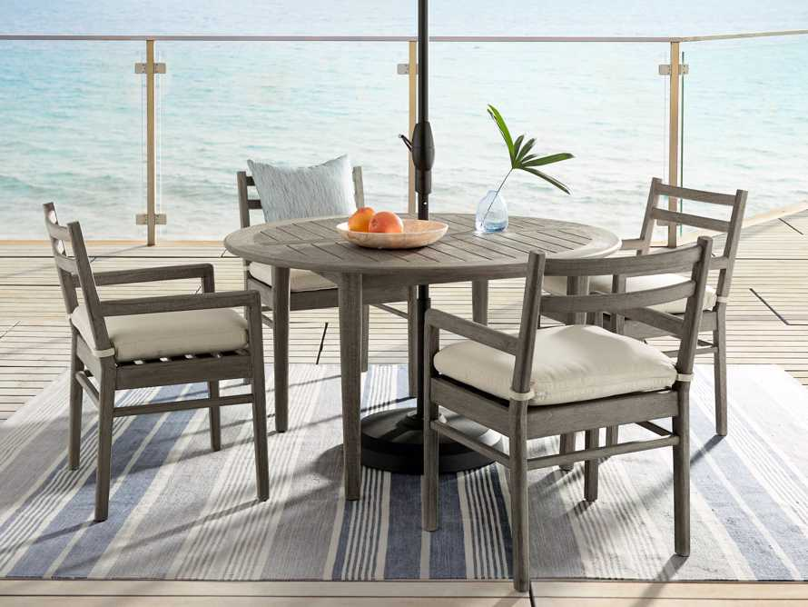 """Costa Outdoor Round 70"""" Dining Table, slide 2 of 8"""