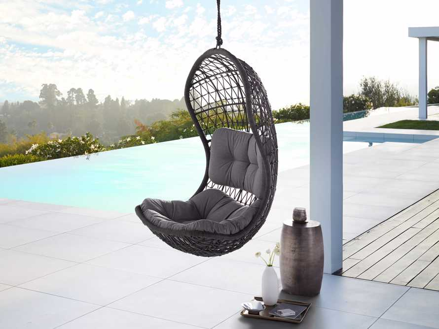 Crew Outdoor Hanging Chair With Rope, slide 5 of 6